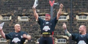 Strongman - WSM 2014 - 1st 2nd 3rd
