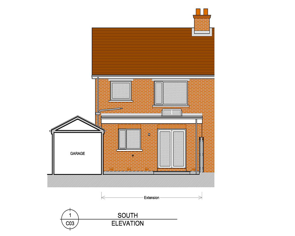 Detached home designs East Belfast